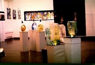 Exhibition at Triveni Kala Sangam